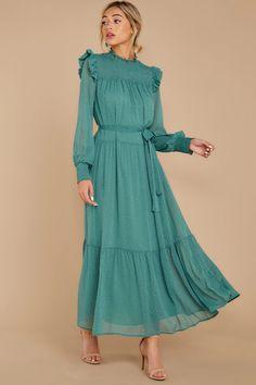 Shop for casual & day dresses Modest Long Dresses, Elegant Dresses For Women, Long Summer Dresses, Stunning Dresses, Casual Dresses, Modest Fashion, Fashion Dresses, Donia, Prom Dress Shopping
