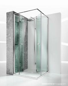 Foldable Shower replay shower enclosures models - folding door |@vismaravetro
