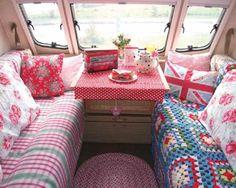 Cath kidston crochet inspired vintage caravan 1