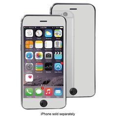 Shop Mogul's Mobile Mogul Mirror + Screen Protector for Apple® iPhone® 6 Clear at Best Buy. Find low everyday prices and buy online for delivery or in-store pick-up. Samsung Device, Apple Iphone 6, Screen Protector, Cool Things To Buy, Bubbles, Ipad, Mirror, Cases, Technology