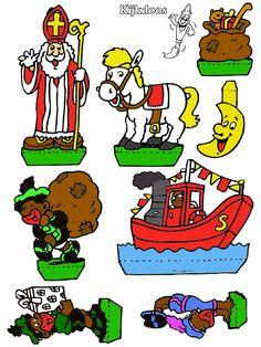 Spelletjes/knutselen Diy Crafts For Kids, December, Nerd, School, Figurine, Nerd Humor