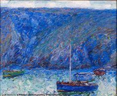 John Russell, who was destined to become an engineer, instead became an artist in fin de siècle France – and a friend of Van Gogh, Monet and Rodin. Australian Painting, Australian Artists, Monet Paintings, Seascape Paintings, Matisse, John Peter, Impressionist Paintings, Impressionism Art, Claude Monet