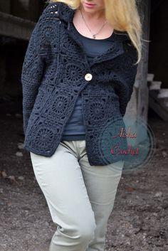 Crochet cardigan by Aisha Crochet