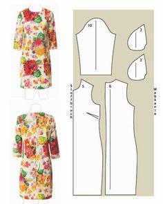 Patrones gratis de 8 vestidos diferentes - yo elijo Coser