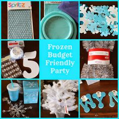 Our Pinteresting Family: Frozen Birthday on a Budget