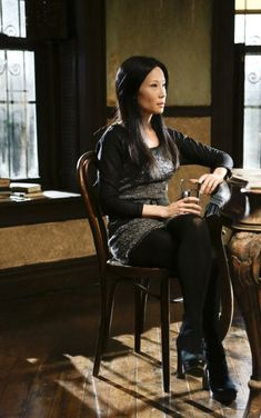 Elementary-Lucy Liu (I'm obsessed with her outfits)