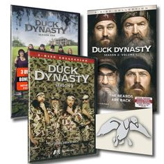 DUCK DYNASTY DVD TRILOGY Pack Seasons 1, 2  3 ~ 7 Disc DVD Collection 2013 NEW (2013) Merry Christmas to me! !!!! :)