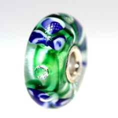 Trollbeads Gallery - Blue Flower Diamond Bead, Retired With A Twist:05, $55.00 (http://www.trollbeadsgallery.com/blue-flower-diamond-bead-retired-with-a-twist-05/)
