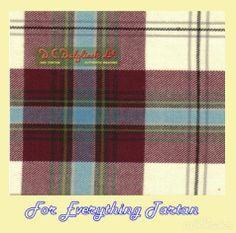 MacLean Duart Dress Burgundy Dalgliesh Dancing Tartan Wool Fabric 11oz Lightweight  by JMB7339 - $115.00