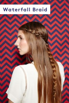 Four basic braids with photos and instructions! Read later to work on waterfall and reverse French braid!