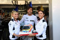 Fernando's birthday  + more slices of action from #FP1 >> http://f1.com/GER-Photos  #GermanGP  #F1