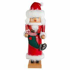 Nutcracker Mrs. Santa (29cm/11.4in)ch by KWO