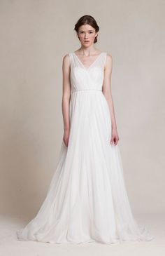 Jenny Yoo 'Magnolia' available at Savvy Brides. http://savvybrides.com.au/jenny-yoo-magnolia-a-line-tulle-ivory-all-sizes