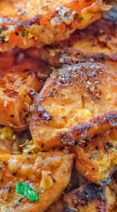 Parmesan Sweet Potatoes
