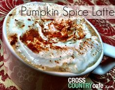 For a limited time you can get a FREE Fall Coffee Recipe eBook from Cross Country Cafe! Some delicious looking coffee recipes in here! Some of the ones they include are: Pumpkin Spiced Latte Maple Syrup Coffee Mulled Apple Cider and More! Pumpkin Coffee Recipe, Pumpkin Spice K Cups, Homemade Pumpkin Spice Latte, Starbucks Pumpkin Spice, Spiced Coffee, Baked Pumpkin, Pumpkin Puree, Pumpkin Cookies, Pumpkin Bread