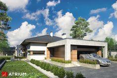 Projekt Sardynia VII - elewacja domu