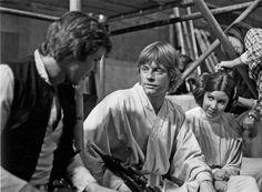 Behind the scenes of Star Wars