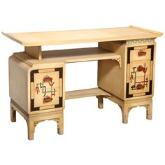 1stdibs   James Mont Att Desk / Vanity And Chair