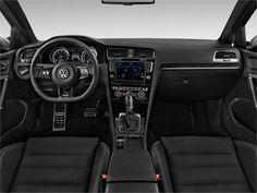 For Volkswagen has enhanced the Golf's technology functions. There is a new touchscreen on the base model and all of other trims get Vw Golf R Mk7, Volkswagen Golf R, New Golf, Golf Gifts, Car Images, Owners Manual, Park