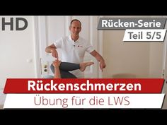 Rückenschmerzen // Übung für die Lendenwirbelsäule, Rückenschmerzen im unteren Rücken - YouTube