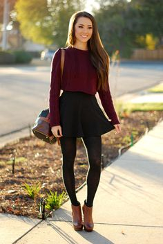 The most stylish ways to wear ankle boots this winter skirt skirt skirt skirt outfit skirt for teens midi skirt Mode Outfits, Outfits For Teens, Dress Outfits, Casual Outfits, School Outfits, Grunge Outfits, Dinner Outfits, Sweater Outfits, Simple Outfits