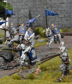 https://flic.kr/p/Mdrzt5 | Armies on Parade 2016 | Entry for Armies on Parade Competition 2016 Dol Amroth army and scratch built castle by Brushstroke