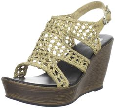 Yellow Box Women's Malena Wedge Sandal ** Learn more by visiting the image link.
