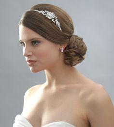 fashion charlotte silver floral comb usabride wedding accessory