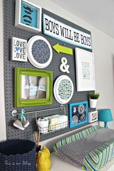 How to turn a neutral guest room into a bright & bold nursery http://www.hometalk.com/l/vjt