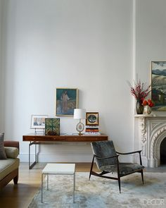 """It's hard to imagine Connolly, whose obsessive attention to detail is a hallmark of Remodelista, choosing anything just because it's """"available."""" But when it came to the 1890s brownstone she and her husband, Marc Agger, purchased 15 years ago, she had to toss all aesthetic principles aside. """"It was chopped up into 10 apartments. Living on the parlor and second floors was like being in a pretty little cocoon with the rest of the building crumbling around us,"""" she recalls. In the two years…"""