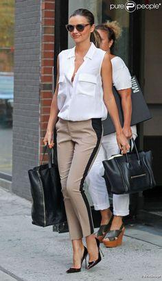 #look Miranda Kerr #fashion #mode