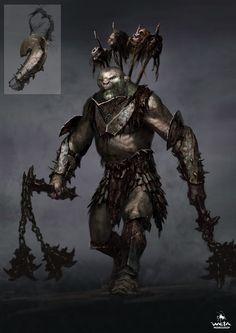 ArtStation - The Hobbit - Battle of Five Armies Hero Orcs, WETA WORKSHOP DESIGN STUDIO