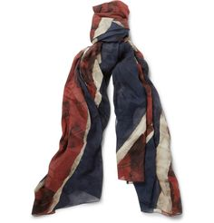 distressed Union Jack flag and the words 'God Save McQueen'
