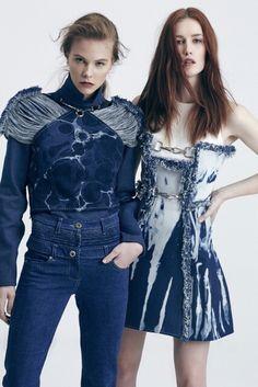 Gulcin Cengel for Calik Denim  #denim #designer #design #jean #denimlovers #trend #fashion #style #dress #shir #croptop