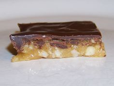 "Low Carb ""Snickers Bar"" Candy Square"
