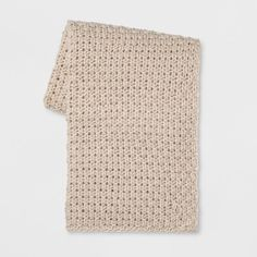Chunky Knit Throw -