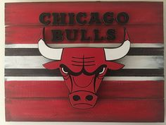Chicago Bulls 3D Wood Sign by DMCdesignsShop on Etsy https://www.etsy.com/listing/514255304/chicago-bulls-3d-wood-sign