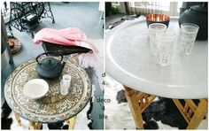 before and after / oriental teatable