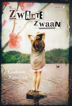 Gideon Samson - Zwarte zwaan    Leopold 2012, 176 pagina's    Rifka verzint dingen. Dat doet ze altijd. Leugens en grapjes. Maar ook dingen om te doen. Nu heeft ze iets nieuws bedacht. Het is griezelig en geweldig tegelijk. Rifka wil haar eigen begrafenis meemaken.    http://www.bol.com/nl/p/zwarte-zwaan/9200000006516952/