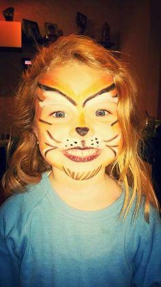 Maquillaje fantasía Tigresa