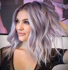 The best cool, toned hair colors for fall 2019 - page 3 of 8 - . - The best cool, tinted hair colors for fall 2019 – page 3 of 8 – VIVA GLAM MAGAZINE ™ # best # - Silver Purple Hair, Silver Lavender Hair, Purple Blonde Hair, Lavender Hair Colors, Blonde Dye, Hair Color Purple, Purple Wig, Gray Hair, Grey Hair With Purple Highlights