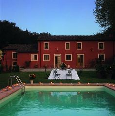 Il Frantoio was formerly an olive press used by local villagers. It is surrounded by terraced olive groves and has recently been transformed into an attractive home offering lovely views aross the lawn and pool down the valley towards Lucca.