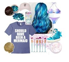 """""""Should Have Been a Mermaid"""" by bookworm528 ❤ liked on Polyvore featuring In Your Dreams, Miss KG, Topshop and Casetify"""