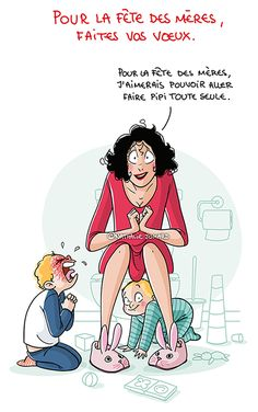 Motherhood Illustrations by Nathalie Jomard Sorry For Everything, Super Mum, Funny Quotes About Life, Funny Art, French Artists, Mother And Child, Funny Kids, Character Concept, Vignettes