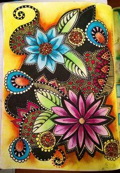 Tracy Scott - Beautiful!! ♡♡ the colors!!