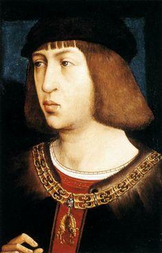 Juan de Flandes. 1495. Filippo il bello. Khm Wien