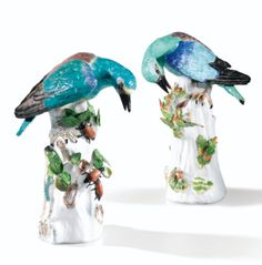 Ceramic Birds, Ceramic Art, Amazing Art, Art Decor, Sculptures, Photos, Ceramics, Antiques, Dresden