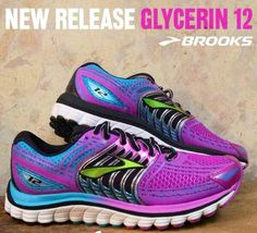 c773d7bd8d1 The new Brooks Glycerin so need these! The Glycerin is my favorite running  shoe   they made them in purple.my favorite color!