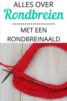 By knitting with a circular needle, I show you with photos and videos how to climb on a circular needle, knit on a circular needle and how to knit invisible on a circular needle. In Dutch of course! Easy Knitting, Knitting Needles, Chrochet, Knit Crochet, Circular Needles, Diy Projects To Try, Fabric Art, Knitwear, Crochet Necklace