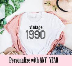 Birthday Squad Shirts, Custom Birthday Shirts, 30th Birthday Ideas For Women, Fabulous Birthday, Happy Birthday, Vintage Birthday Cards, Birthday Woman, Shirts For Teens, Birthday Images